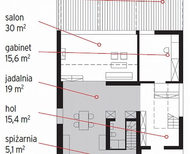 plany domu