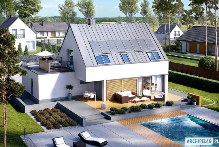 Projekt domu Lars G1 (wersja B)