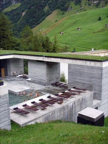 zumthor, termy, szwajcaria