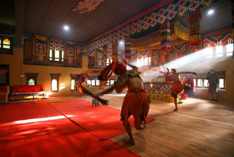 Centrum Szczęścia, Bumthang, Bhutan, proj. 1 1>2 Architects, nominacja w kategorii budynki zrealizowane, budynki społeczne.
