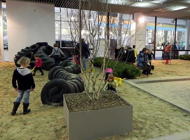 Targi Gardenia 2012. Ogrody dla dzieci