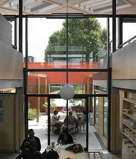 londyn, projekt, wielka brytania, architekt, budynek