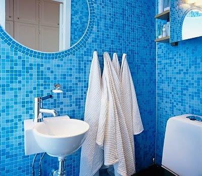 mozaika, łazienka, płytki łazienkowe