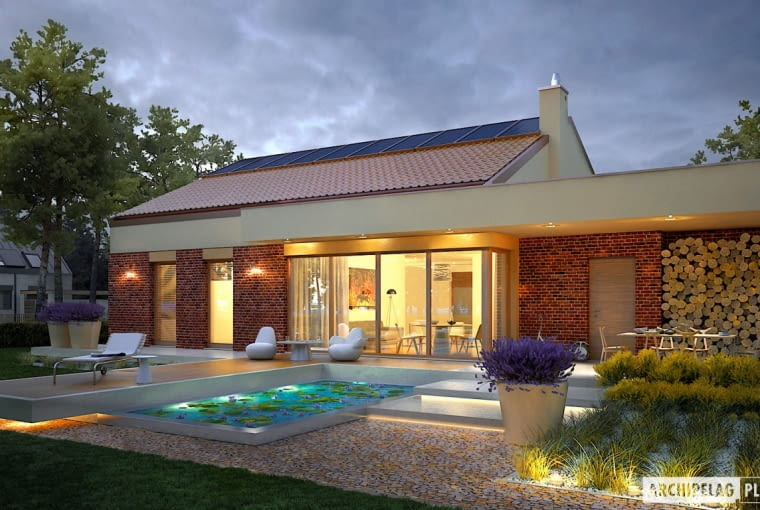 Projekt domu EX 11 G2 (wersja B)
