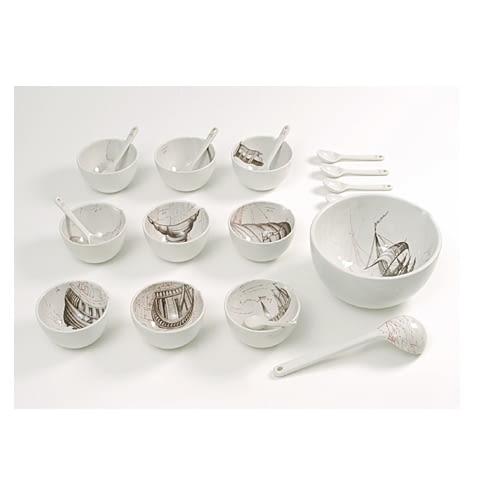 porcelana;projekt: Hella Jongerius dla Royal Tichelaar Makkum