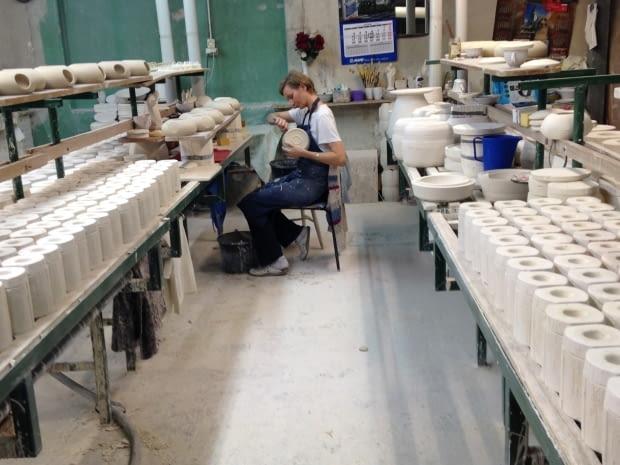 ćmielów, fabryka, porcelana, fabryka porcelany, porcelana z Ćmielowa