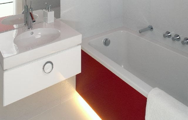 łazienka,oświetlenie wanny,oświetlenie łazienki