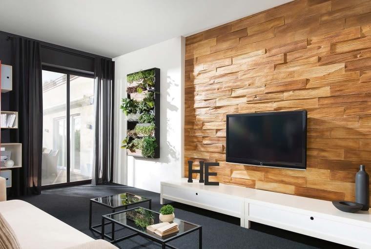 Betonowe płytki Timber wood, wym. 53 x 11,7 x 1,2-2,8 cm, cena 70 zł/m2, STEGU
