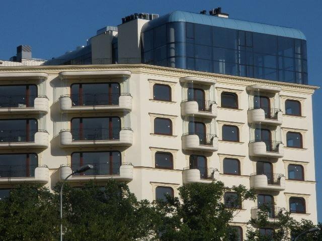 Belvedere Residence w Warszawie. Proj. Apar Projekt