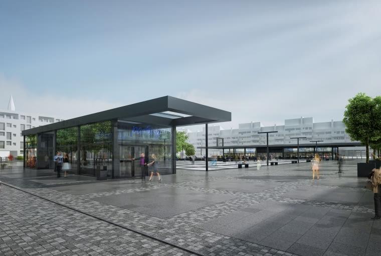 Plac Nowy Targ Modernistyczny Rynek Idzie Do Remontu