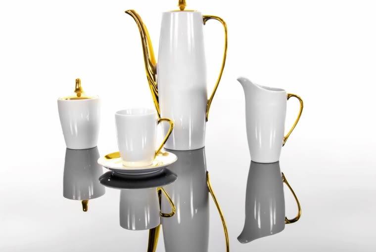 Goplana jest jednym z najbardziej charakterystycznych ćmielowskich serwisów kawowych z lat 60. XX wieku. Proj. Wincenty Potacki, 1960 r.