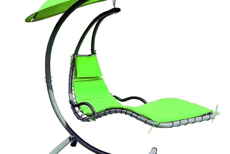 RIMINI, leżak podwieszany, metal i tworzywo sztuczne, wys. 210 cm 799 zł Praktiker i 2 krzesła 458,98 zł/zestaw IKEA
