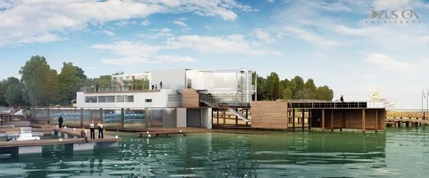 Projekt zagospodarowania brzegu jeziora Ukiel - Plaży Miejskiej w Olsztynie