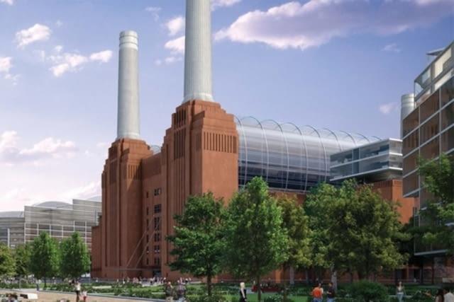 Rewitalizacja elektrowni Battersea w Londynie