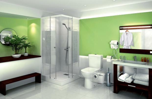 pomporozdrabniacz, łazienka na poddaszu, łazienka daleko od pionu kanalizacyjnego