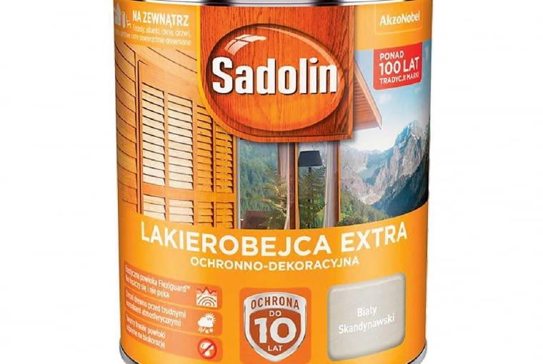Lakierobejca extra/SADOLIN | 20 kolorów. Cena: 56,80 zł/1l
