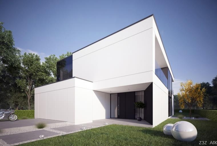 Jednorodzinny dom w Toruniu. Proj. Z3Z ARCHITEKCI