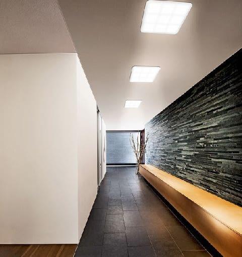 korytarz, oświetlenie led