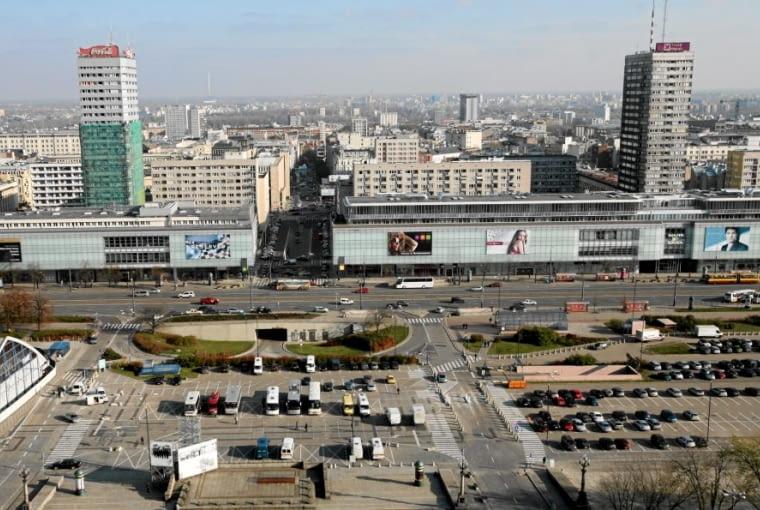 Ściana Wschodnia w Warszawie. Układ urbanistyczny projektu Zbigniewa Wacławka