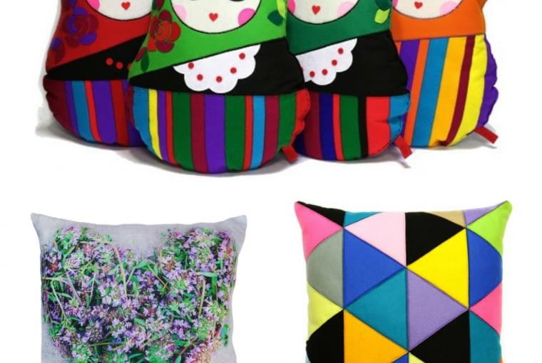poduszki dekoracyjne, ozdoby, salon