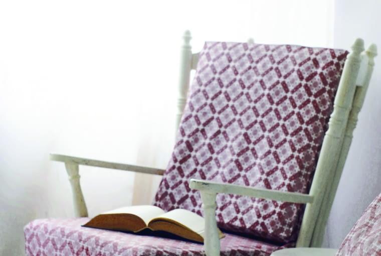 Kolekcja Górskie Szlaki, tkaniny Haft