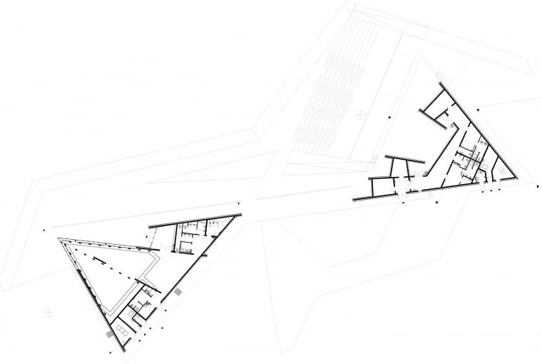 Plan sytuacyjny Parku w Horyńcu Zdroju