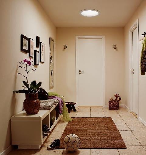aranżacja wnętrz,korytarz,świetlik,hol,przedpokój