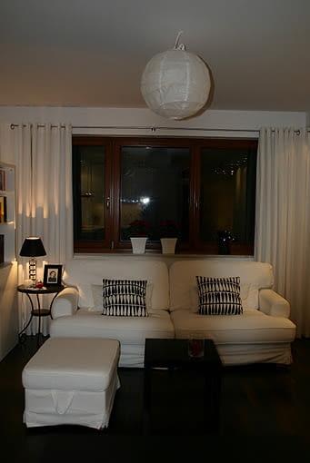 Mieszkanie czytelniczki urządzone meblami IKEA