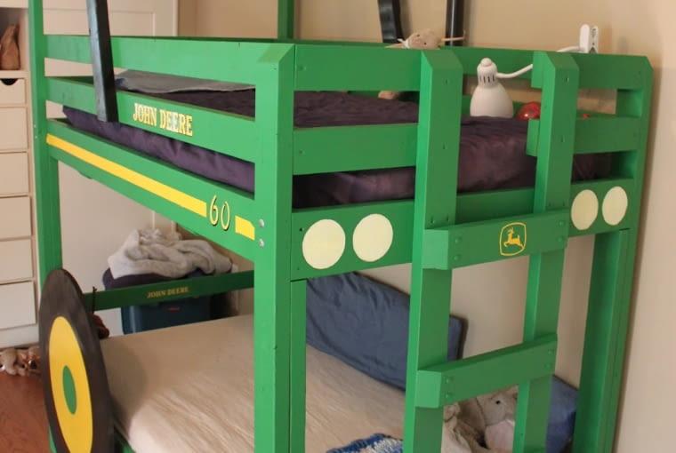 Łóżko dla dziecka traktor