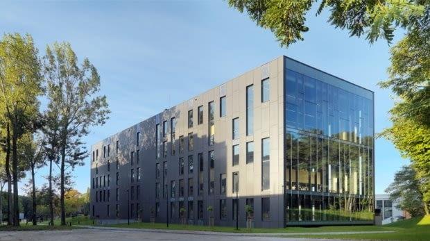 Biblioteka Uniwersytecka w Zielonej Górze (fot. Wojciech Kryński)