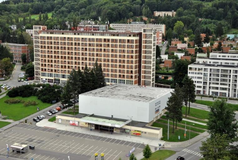 Zlin, typowy budynek fabryczny