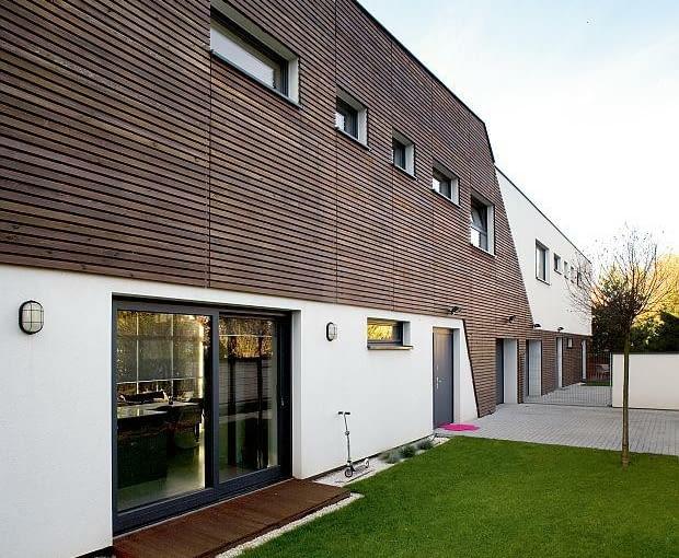 nowoczesny dom, realizacje domów, elewacja, okna tarasowe