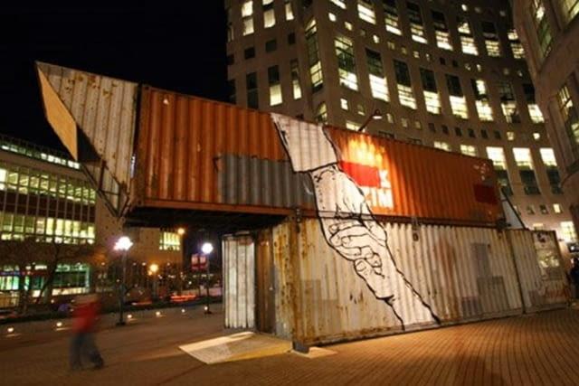 Alternatywne kino w Vancouver zlokalizowane w starych okrętowych kontenerach
