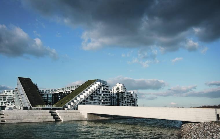 big, Bjarke Ingels Group, 8 house, big house, apartamentowiec, blok, bloki, kopenhaga, dania