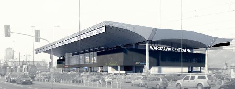 Dworzec Warszawa Centralna, foto: pkp.pl