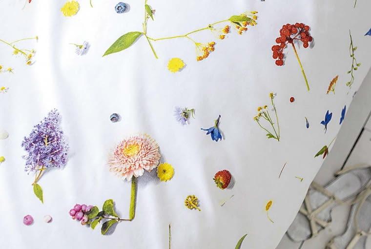 SNURK FLOWER FIELDS, bawełna, 135 x 200 cm, 50 x 75 cm (1 szt.) 265?zł CzerwonaMaszyna.pl