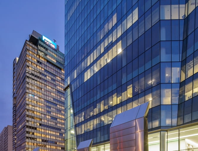 Wieżowiec q22 - projekt: Kuryłowicz & Associates