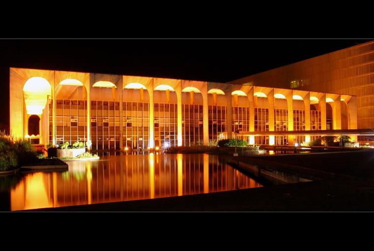 oscar niemeyer, brasilia, Itamaraty, Pałac Itamaraty, brazylia