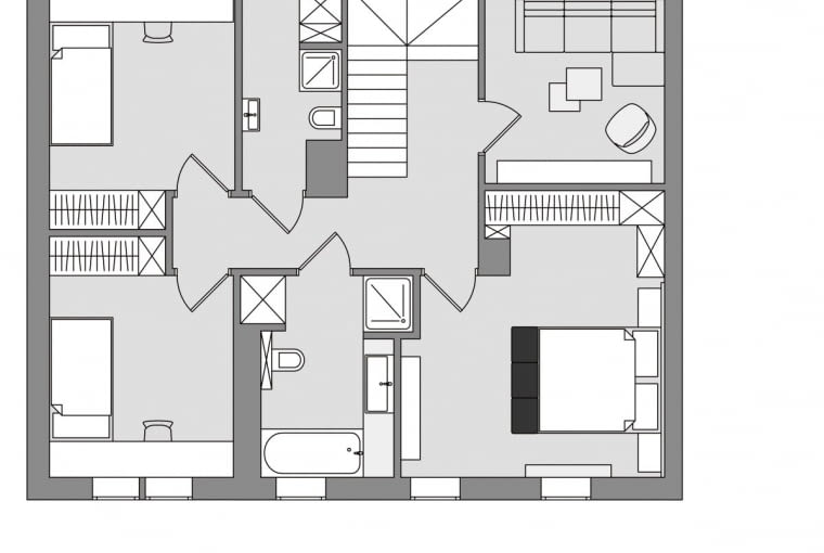 Rzut I piętra