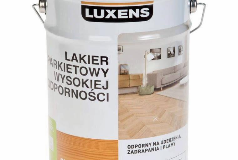 ŁAZIENKA. Lakier parkietowy, wyd. 10 m kw./l Luxens .129 zł/5 l