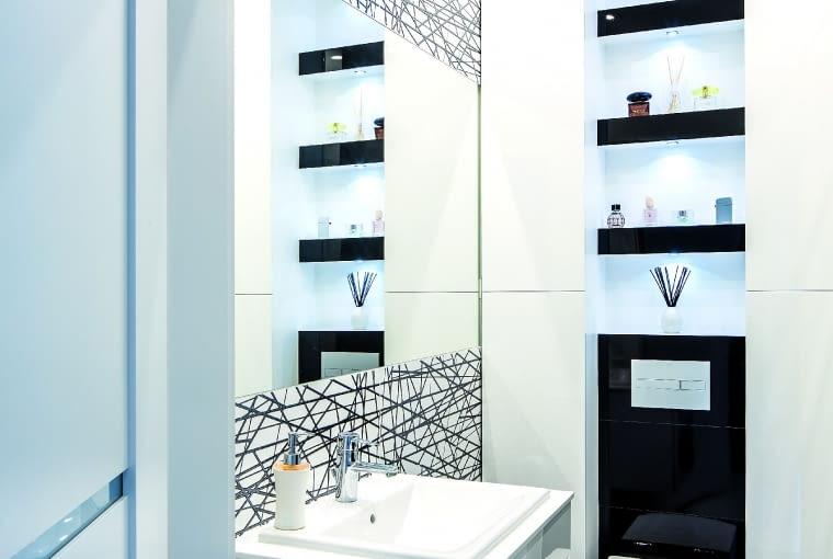 dom nowoczesny, dom pasywny, łazienka