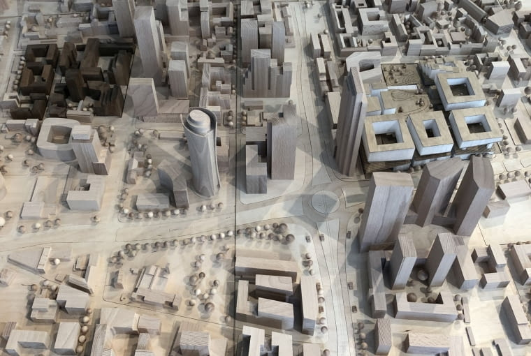 Wystawa 'PLANY NA PRZYSZŁOŚĆ. Architektura Warszawy w projektach'