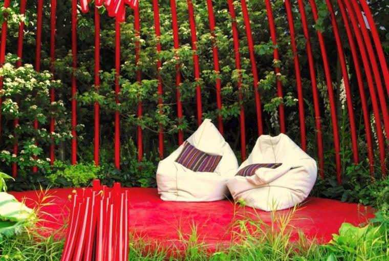 25.05.2011 LONDYN CHELSEA FLOWER SHOW NA ZDJECIU OGROD POKAZOWY DLA CZASOPISMA FOT. ARKADIUSZ SCICHOCKI / AGENCJA GAZETA SLOWA KLUCZOWE: OGROD