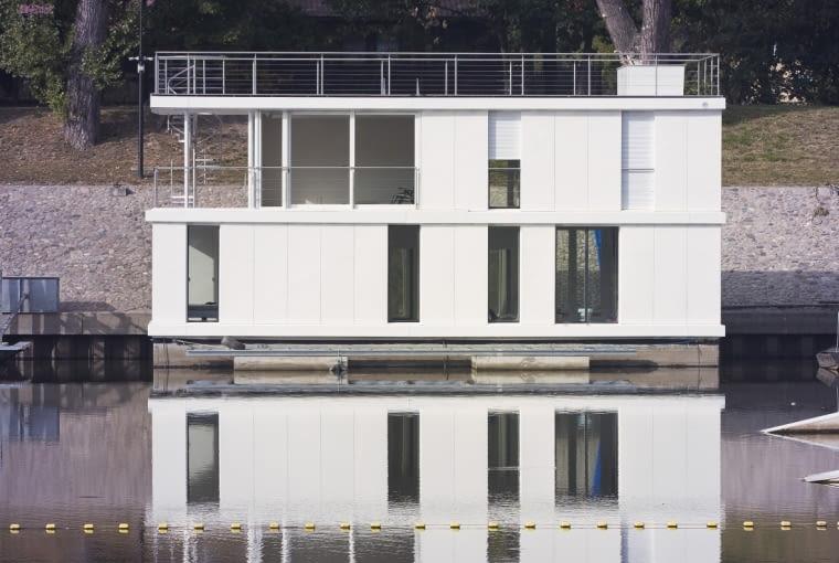 Dom na wodzie w Porcie Czerniakowskim