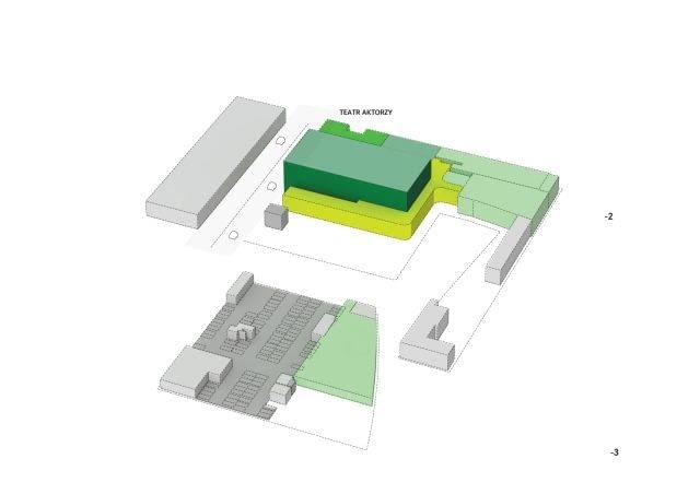 Projekt Muzeum Sztuki Nowoczesnej Warszawa, architekt Christian Kerez
