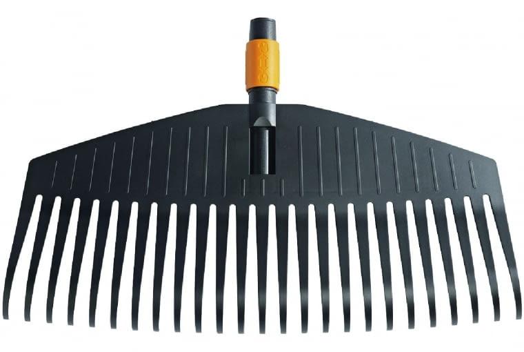 System narzędzi do sprzątania QuickFit. Powyżej: grabie do liści.