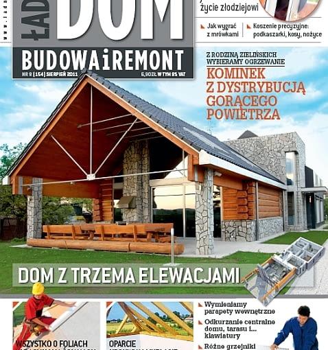 Okładka miesięcznika Ładny Dom 08/2011