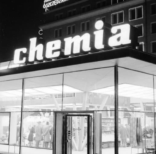 Modernistyczny Pawilon Chemia w Warszawie