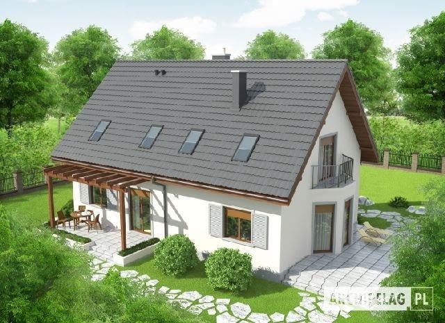 projekt gotowy domu dwurodzinnego