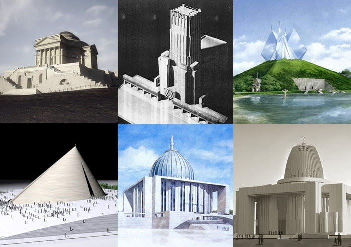 Świątynia Opatrzności Bożej. Kolejne koncepcje architektoniczne.
